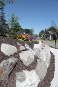 Landscaping at Holland Villas