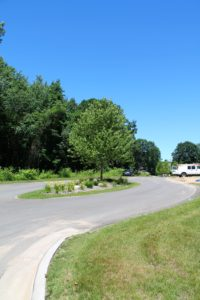 Entrance Drive at Blackberry Cottages