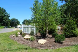 Front Landscaping at Blackberry Cottages