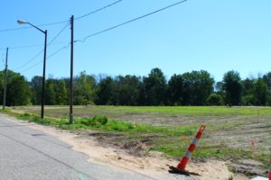 Open Area ready for more Condos at Cottages at Riverbend