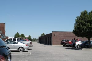Parking Lot and Garage/Storage area.