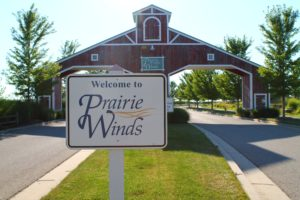 Front Entrance at Prairie Winds