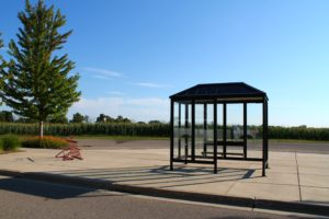 Bus Stop at Prairie Winds