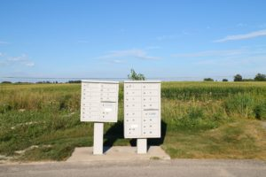 Mailboxes at Prairie Winds