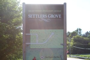Plat Map at Settlers Grove