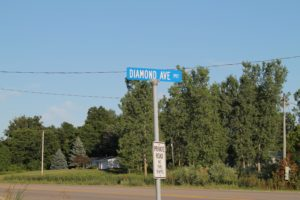 Street Sign Near Summerlin South Condos