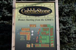 Plat Map of Cobblestone