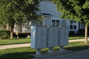 Mailboxes at Cobblestone