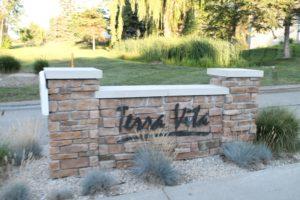 Front Sign at Terra Vita