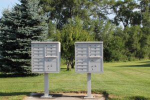 Mailboxes at Macatawa Legends