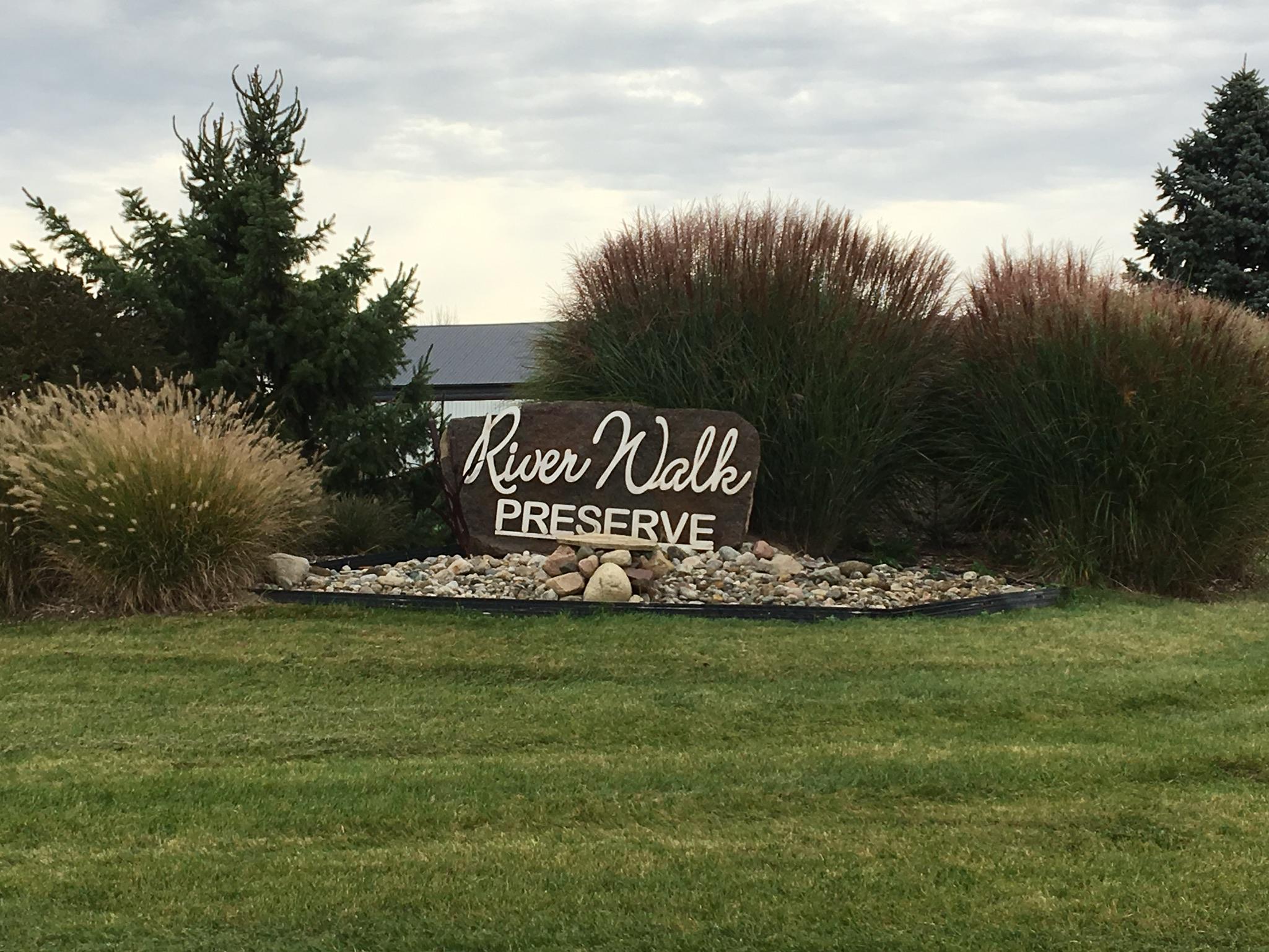 Entrance Sign of Riverwalk Preserve