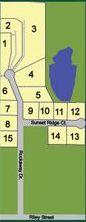Riley Ridge Plat Map