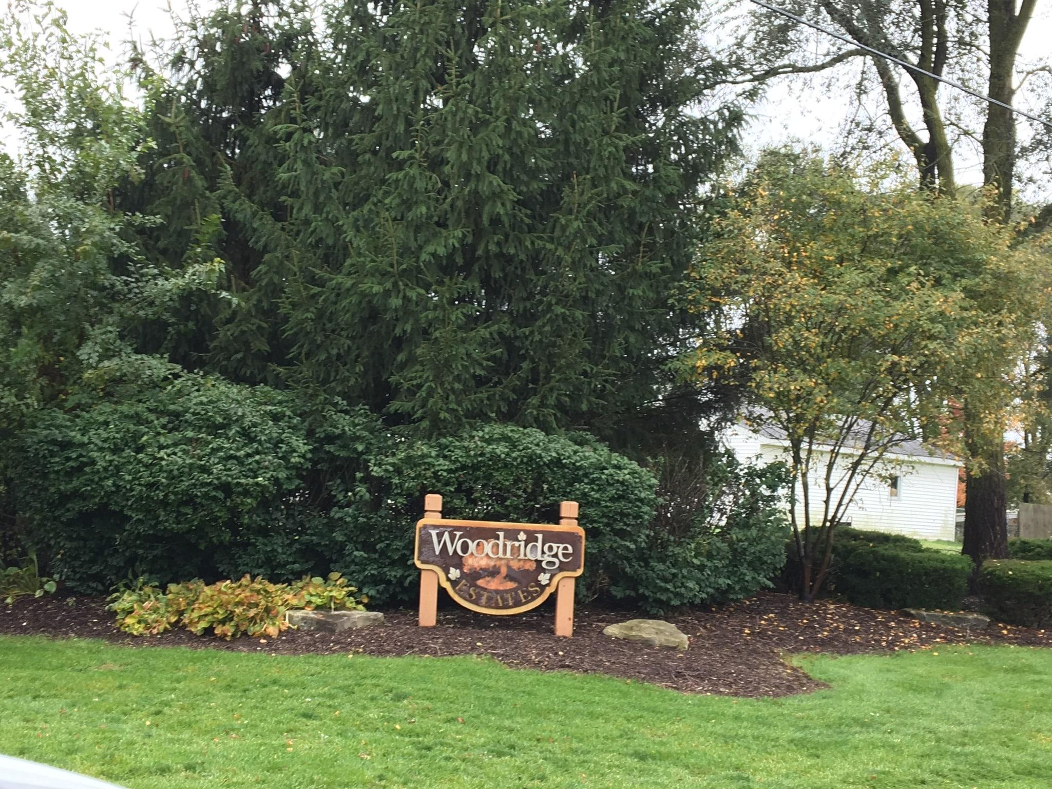 Entrance Sign for Woodridge