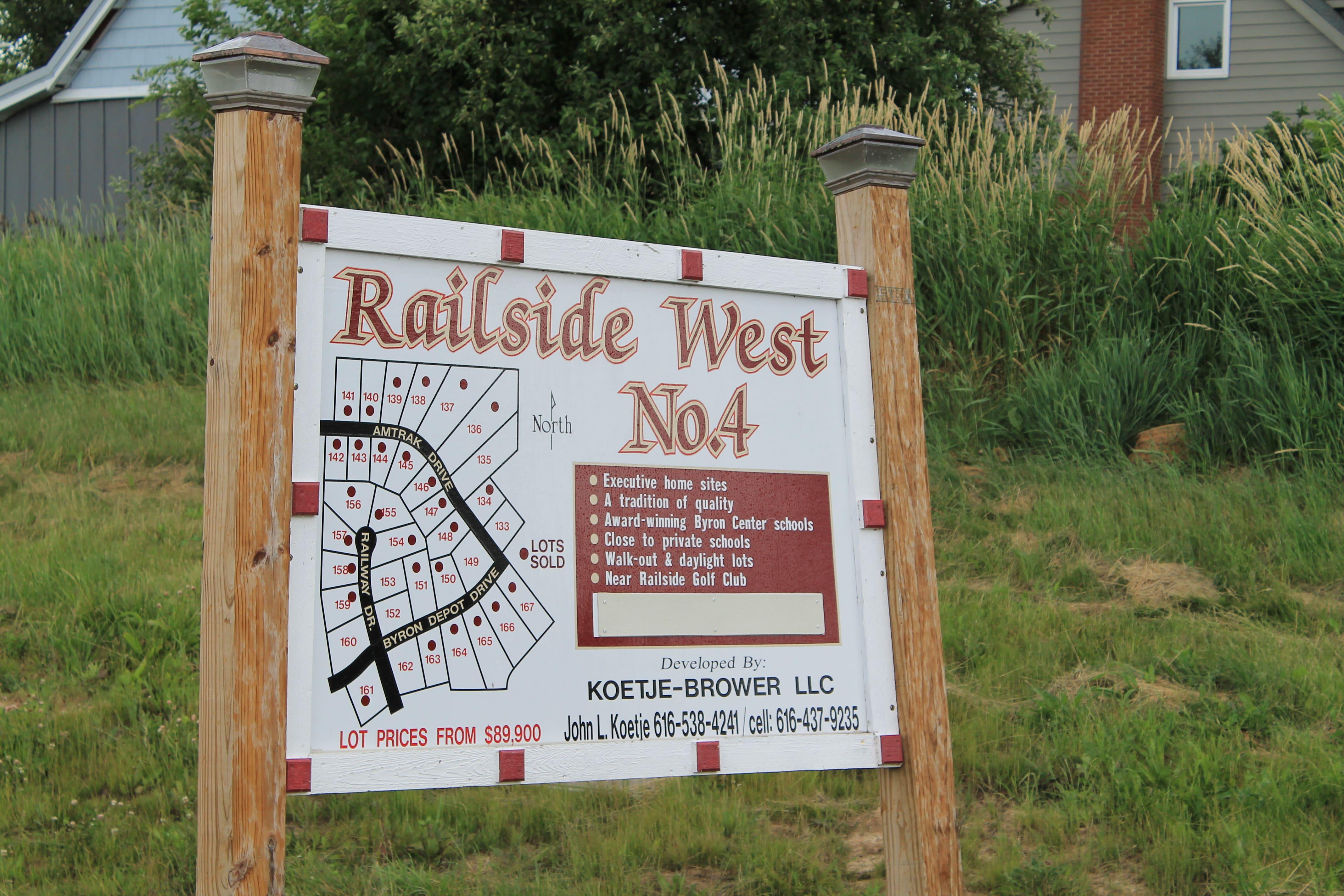 Plat Map of Railside West